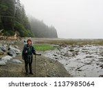 epic hike along the west coast... | Shutterstock . vector #1137985064