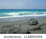 beautiful sea shore | Shutterstock . vector #1138003358