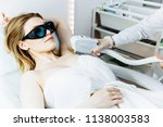 body care. underarm laser hair... | Shutterstock . vector #1138003583