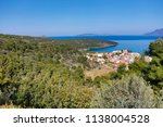 beautiful view of the coast of... | Shutterstock . vector #1138004528