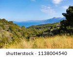 beautiful view of the coast of... | Shutterstock . vector #1138004540