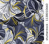 vector seamless pattern with... | Shutterstock .eps vector #1138010660