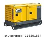 stationary diesel generator...