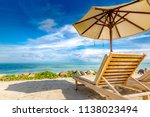 amazing beach vacation for... | Shutterstock . vector #1138023494