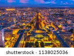 aerial view of gare... | Shutterstock . vector #1138025036