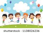 vector illustration of cartoon...   Shutterstock .eps vector #1138026236