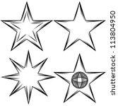 An Image Of A Flourish Star Set.