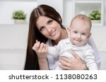 portrait of a happy young... | Shutterstock . vector #1138080263