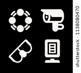 filled other icon set such as... | Shutterstock .eps vector #1138080470