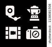 filled technology icon set such ... | Shutterstock .eps vector #1138081508