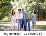 people  friendship and... | Shutterstock . vector #1138084763