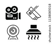 filled technology icon set such ... | Shutterstock .eps vector #1138085018