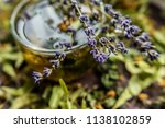 cup of tea lavender provence... | Shutterstock . vector #1138102859