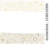 floral card. vector illustration   Shutterstock .eps vector #1138115300