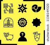 simple icon set of art related... | Shutterstock .eps vector #1138149320