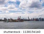 manhattan  new york   july 8 ...   Shutterstock . vector #1138156160