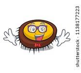 geek sea urchin character... | Shutterstock .eps vector #1138177223