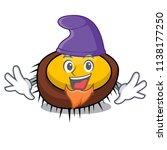 elf sea urchin character cartoon | Shutterstock .eps vector #1138177250