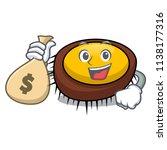 with money bag sea urchin... | Shutterstock .eps vector #1138177316
