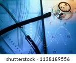 medical marketing and... | Shutterstock . vector #1138189556