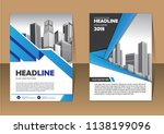 template  layout  cover ... | Shutterstock .eps vector #1138199096