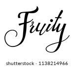 fruity text alphabet. modern... | Shutterstock .eps vector #1138214966