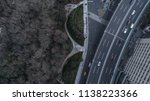aerial view of highway and... | Shutterstock . vector #1138223366