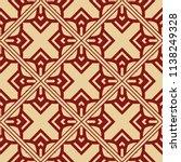 vector modern tiles pattern.... | Shutterstock .eps vector #1138249328