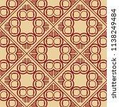 vector modern tiles pattern.... | Shutterstock .eps vector #1138249484