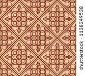vector modern tiles pattern.... | Shutterstock .eps vector #1138249538
