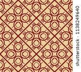 vector modern tiles pattern.... | Shutterstock .eps vector #1138249640