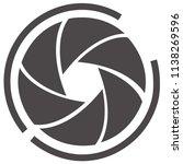 shutter vector icon | Shutterstock .eps vector #1138269596