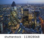 City London Skyline Sunset - Fine Art prints