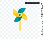 mill vector icon isolated on... | Shutterstock .eps vector #1138291679