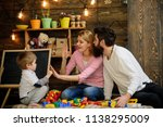 childhood concept. early... | Shutterstock . vector #1138295009
