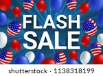 flash sale poster flyer banner... | Shutterstock .eps vector #1138318199