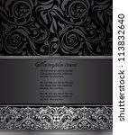 elegant vintage card | Shutterstock .eps vector #113832640