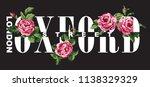 oxford street london fashion... | Shutterstock .eps vector #1138329329