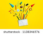 back to school concept ... | Shutterstock . vector #1138346576