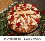 ukrainian handmade festive... | Shutterstock . vector #1138349300