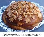 ukrainian festive meals.... | Shutterstock . vector #1138349324