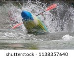 Kayaker In White Water's Of...