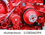 diesel engine parts for... | Shutterstock . vector #1138366394