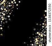stars confetti diagonal border. ...   Shutterstock .eps vector #1138372550
