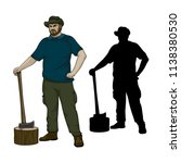 vector illustration of... | Shutterstock .eps vector #1138380530