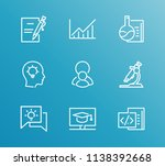 training icon set and enroll... | Shutterstock .eps vector #1138392668