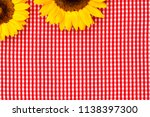 Natural Yellow Sunflowers In...