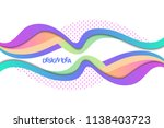 futuristic design with bright... | Shutterstock .eps vector #1138403723