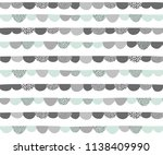 hand drawn abstract vector... | Shutterstock .eps vector #1138409990