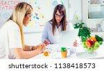 doctor nutritionist  dietician... | Shutterstock . vector #1138418573